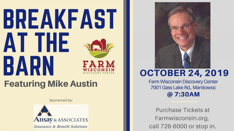 Breakfast at the Barn featuring Mike Austin